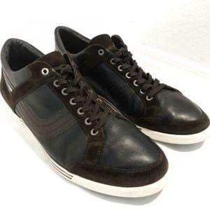 DIRK BIKKEMBERGS Low Top Sneaker Shoes Suede Black